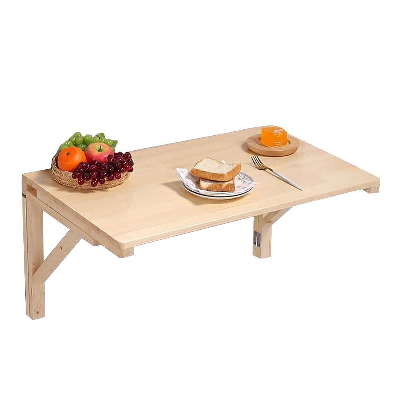 全体捧げるトライアスリート壁掛けテーブル キッチン&ダイニングルームテーブル、壁掛け式ドロップリーフ折りたたみテーブル、木製省スペース吊りテーブル (Size : 70×50cm)