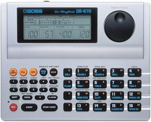 BOSS DR-670 Dr. Regular dealer Machine Drum Rhythm OFFicial