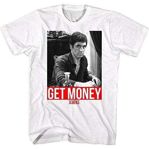 2Bhip Scarface 1980's Gangster Crime Movie Al Pacino Get Money Montana...
