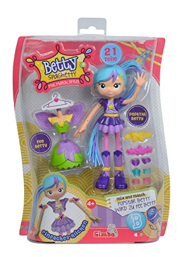 Simba 109281000POP - Betty Spaghetti Puppe Popstar/Fee
