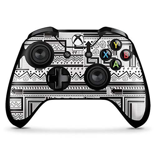 DeinDesign Skin kompatibel mit Microsoft Xbox One X Controller Aufkleber Folie Sticker Ethno Style Ethnostyle Abstrakt