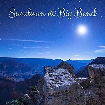 Sundown at Big Bend