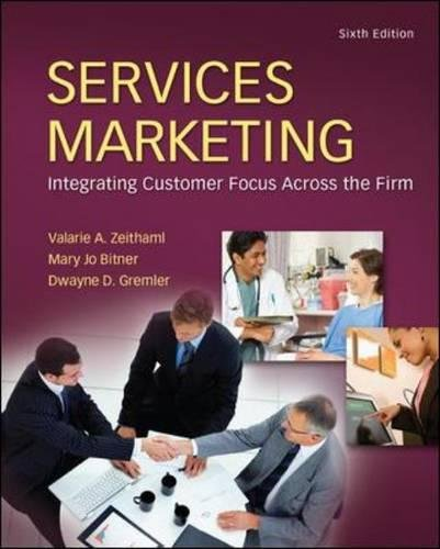 Top services marketing sixth edition for 2020