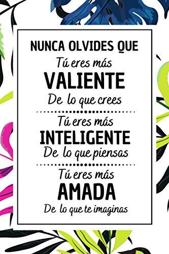 Nunca Olvides Que: Bloc de notas , Diario Cuaderno de Notas A5...