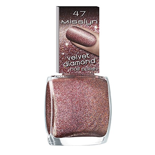 Misslyn Velvet Diamond Nail Polish Nr.47 bright love, 10 ml
