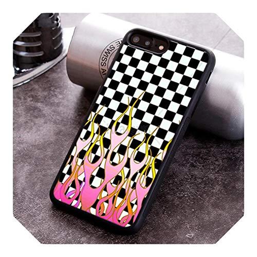 Funda para iPhone X XR XS 11 Pro MAX 5 6 6S 7 8 Plus Samsung Galaxy S7edge S8 S9 S10