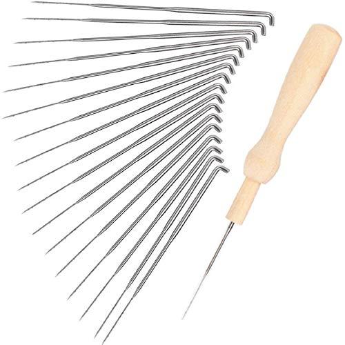 30 Pcs Needle Felting Kit, Wool Felting Needles Tool, Needle Felting Supplies, Wool Felting Supplies Needle Felting Tool, 3 Sizes Felting Needles 3.58/3.39/3.07 inch