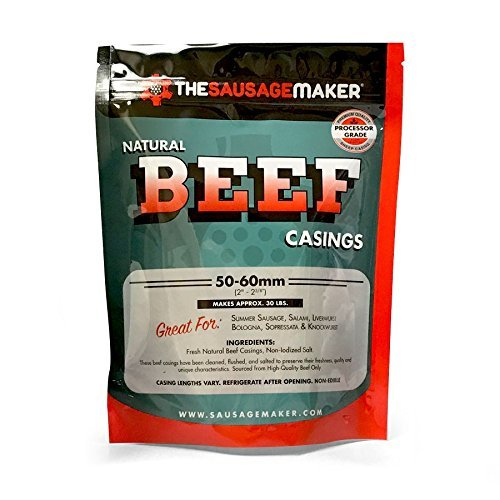 The Sausage Maker - Home Pack Natural Beef Casings, 1 Pack