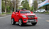 Toyshine Mercedes Benz Battery Powered Ride-On Toy Remote Control Modes Vehicle with Headlights