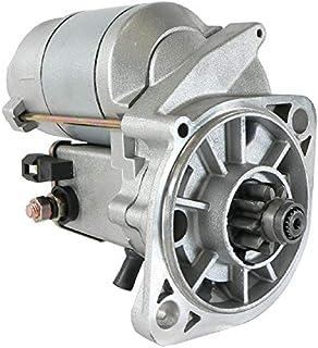 DB Electrical SND0686 Starter Compatible With/Replacement For Ishikawajima IHI 35J Backhoe W Isuzu Engine/AGCO ST28A, AGCO...