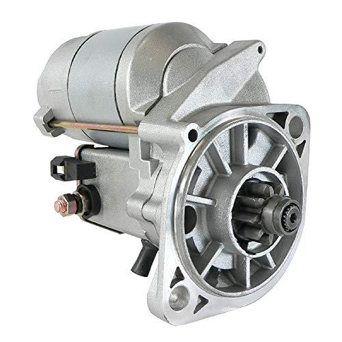 DB Electrical 410-52399 Starter für Ishikawajima IHI 35J Bagger W Isuzu Motor/AGCO ST28A, AGCO Challenger MT255 /Airman AX 29 U CGL/Massey Ferguson MF-1220 FC33 /3710466M93 /893/893 70489 660