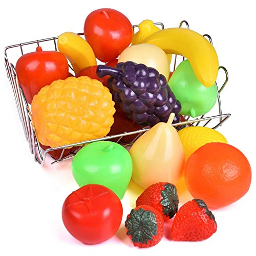 Liberty Imports Life Sized Bag of Fruits Play Food...
