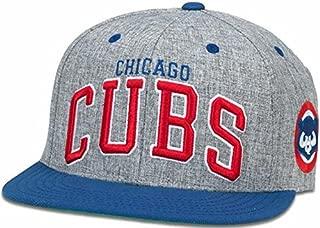 American Needle Chicago Cubs Snapback Flat Bill Stanton Blue/Grey