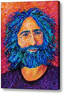 "Electric Jerry - 16""H x 12""W Canvas Print"