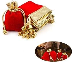 shuxuanltd Hessische zakken kleine koord geschenkzakken kerstboom decoratie geschenkzak decoratie verpakking zakken kerstz...