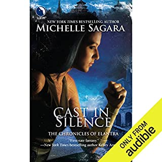 Cast in Silence     The Chronicles of Elantra, Book 5              Written by:                                                                                                                                 Michelle Sagara                               Narrated by:                                                                                                                                 Khristine Hvam                      Length: 17 hrs and 5 mins     2 ratings     Overall 5.0