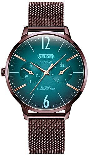 Welder Breezy Herren Uhr analog Quarzwerk mit Edelstahl Armband WWRS626