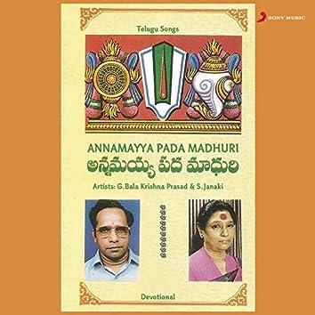 Annamayya Pada Madhuri
