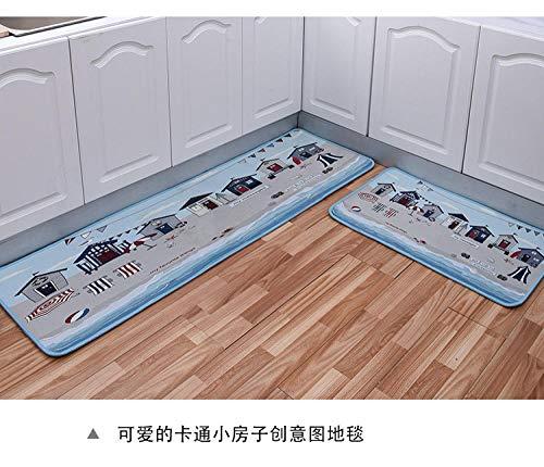QNNN Vloermatten, vuilvangmat, bruin• Ultra absorberende en anti-slip deurmat van microvezel • zeer dun past onder bijna elke deur, voor binnen en buiten, wasbaar