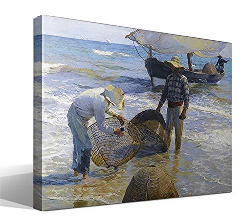 Cuadro Canvas Pescadores valencianos de Joaquín Sorolla y Bastida