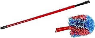 Besen Lang ausziehbar f/ür Decken Spinnweben 40-257cm Mitening Staubwedel Teleskop Staubwischer Mikrofaser Waschbar mit Verbiegbare Eckbesen Entfernt M/ühelos Staub und Teleskopstiel Teleskopstange