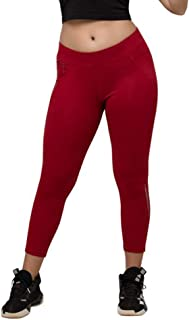 Lovable Women Girls Cotton Solid Track Pants in Maroon Color- Gear Up Track - MN