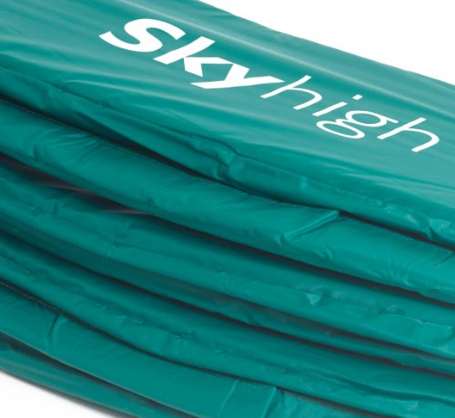 Skyhigh Premium 10ft x 17ft Rectangular Trampoline Pads (Universally Fitting with Thicker Foam and Durable PVC Cover)