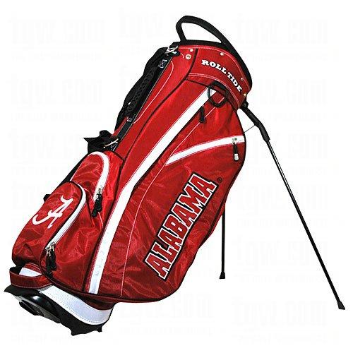 Team Golf NCAA Washington Huskies Fairway Golf Stand Bag, Lightweight, 14-way Top, Spring Action Stand, Insulated Cooler Pocket, Padded Strap, Umbrella Holder & Removable Rain Hood