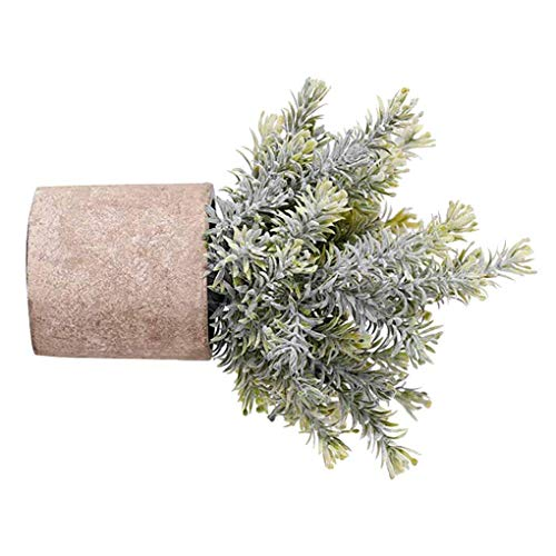 fried Blossom Artificial Potted Flower Table Living Room Simulation Plastic Fake Bonsai Plastic Fake Flower Pot Branches