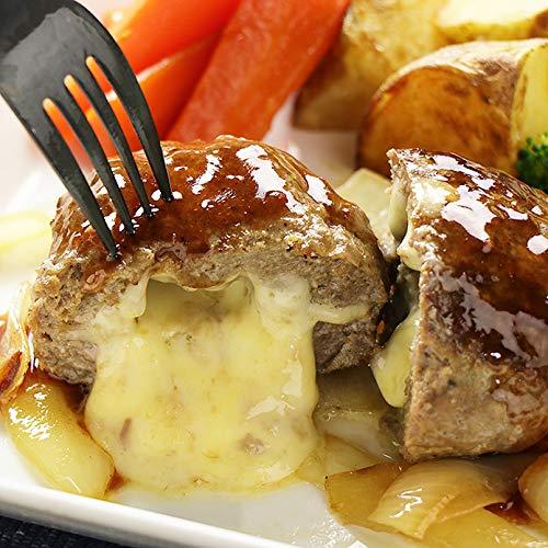 ミートガイ チーズ in ハンバーグステーキ 150g×2個 グラスフェッドビーフ使用 CHEESE STUFFED GRASS FED BEEF HAMBURG STEAK 150G?2