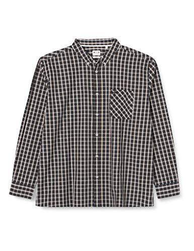 MUSTANG Herren Clemens small Check Hemd, dunkelgrün, XL