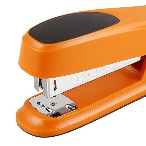 COMIX 3 Color fashion Comfortable slip stapler green/blue/orange (Orange)