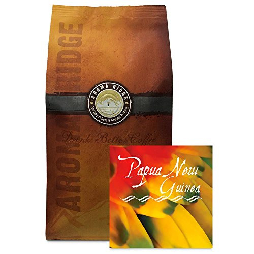 Papua New Guinea Coffee, 1 lb Whole Bean FlavorSeal Vacuum Bag