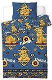 Disney® The Lion King Simba - Juego de funda de edredón para cama individual