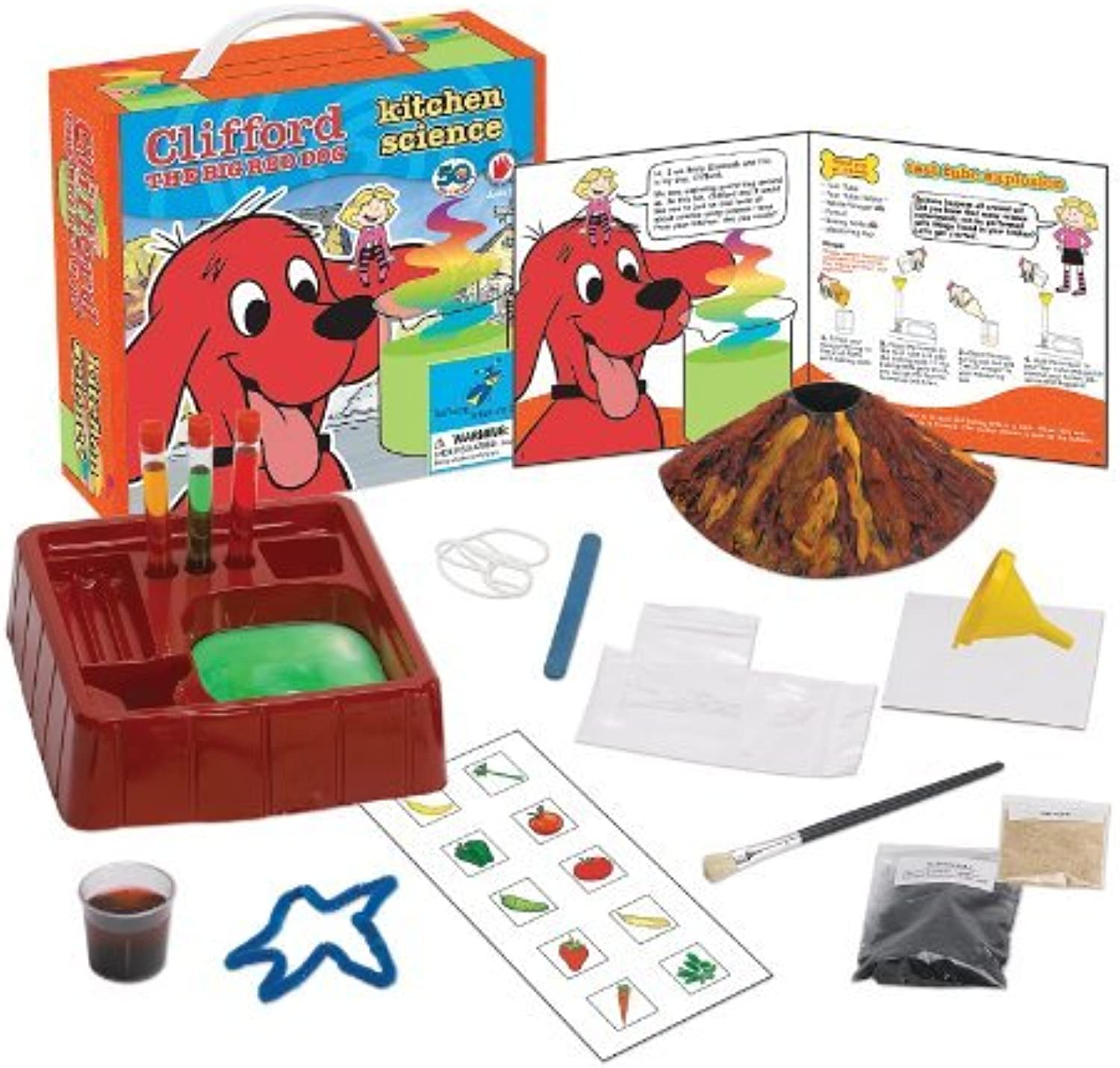 Clifford The Big Red Dog Kitchen Science Kit by Clifford The Big Red Dog