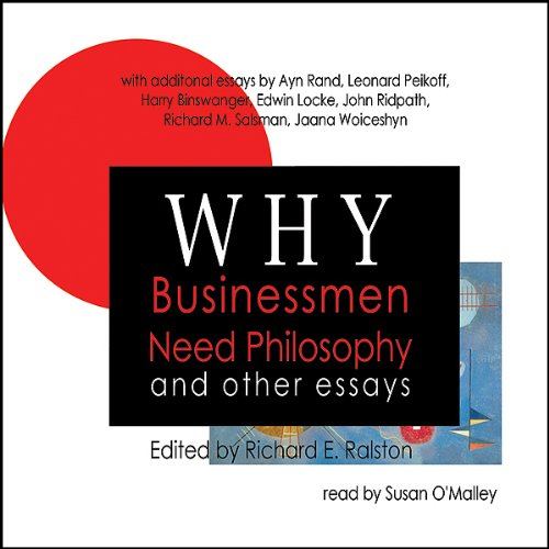 Why Businessmen Need Philosophy and Other Essays audiobook cover art