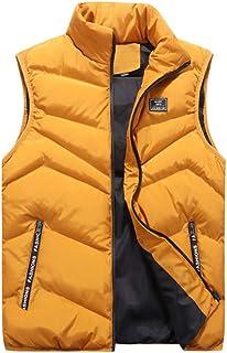 9e61cb4379ddb Homme Manteau Hiver Ultra Léger Chaud Doudoune sans Manches Veste Gilet d  hiver