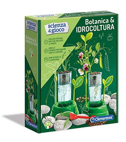 Clementoni Scienza E Gioco - Botanica & Idrocoltura Gioco Scientifico Per Bambini, 8 Anni, Multicolore, 19151