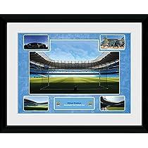 Manchester City F.C. マンチェスター シティ フレーム ピクチャー エティハド スタジアム 16 x 12 / ポスター