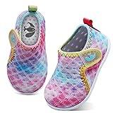 FEETCITY Boys Girls Shoes Kids Swim Water Shoes Barefoot Aqua Socks Non-Slip Beach Pool for Baby 6-12 Months Infant