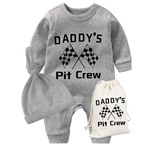 AOUYOA Mameluco para bebé de 0 a 12 m para recién nacido, para papá, para el día del padre