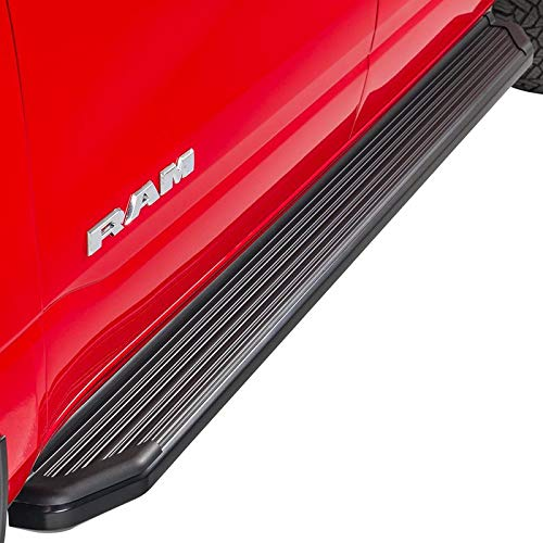 Ionic 41 Series Black (Fits) 2015-2018 Ford F150 & (Fits) 2017- Up Super Duty F250 F350 SuperCab ONLY Running Boards Side Steps (41108083053)
