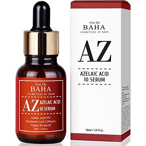 Azelaic Acid 10% Facial Serum with Niacinamide - Fast Rosacea Skin...