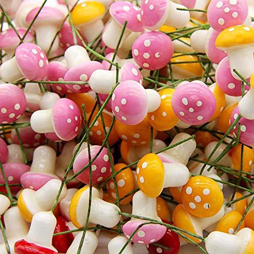 Uteruik Lot de 60 Champignons colorés