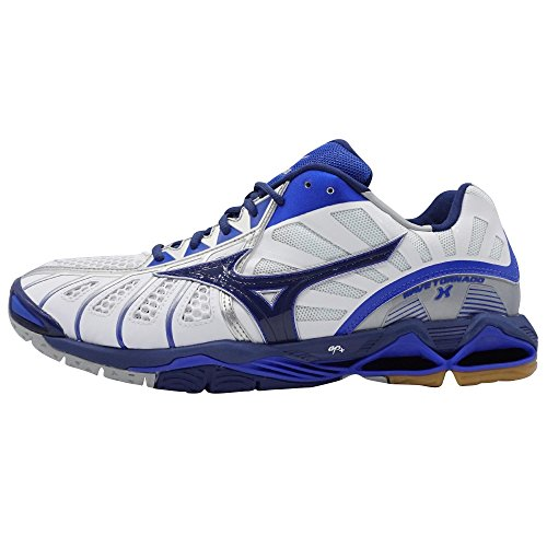 Mizuno Wave Tornado X White/TwilBlu/DazzlBlue - 09+