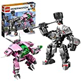 LEGO Overwatch - D.Va & Reinhardt, Juguete de Construcción de...