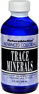 Futurebiotics Trace Minerals Advanced Colloidal USDA Certified Organic, 4 oz