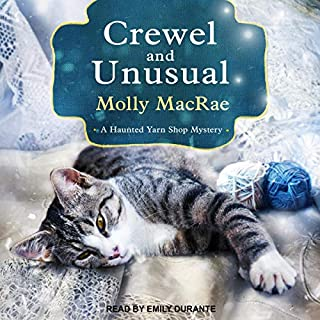 Crewel and Unusual audiobook cover art