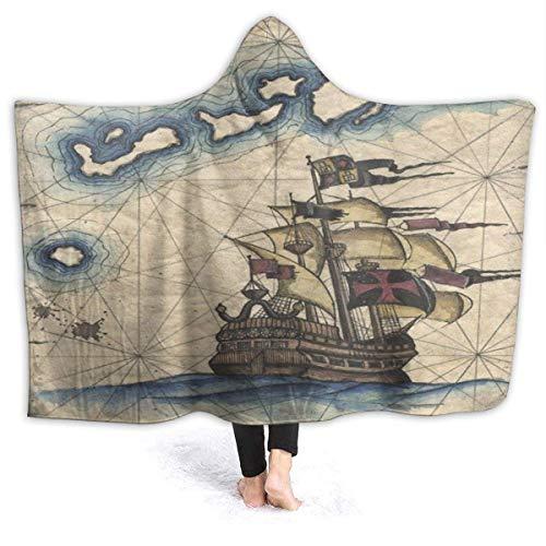 venty Mit Kapuze Decke Rasta Flagge Tragbare Decke Warme Decke Weiche Decke für Männer, Frauen, Kinder
