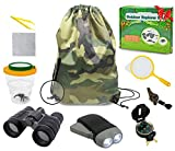 edola Outdoor Explorer Kit Gifts Toys, 3-10 Years Old Boys Childrens Kids Outdoor